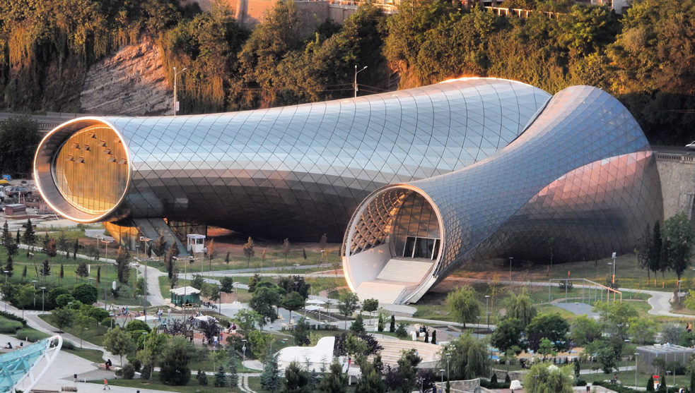 Rhike Park / Music Theatre and Exhibition Hall – Tbilisi, Georgia