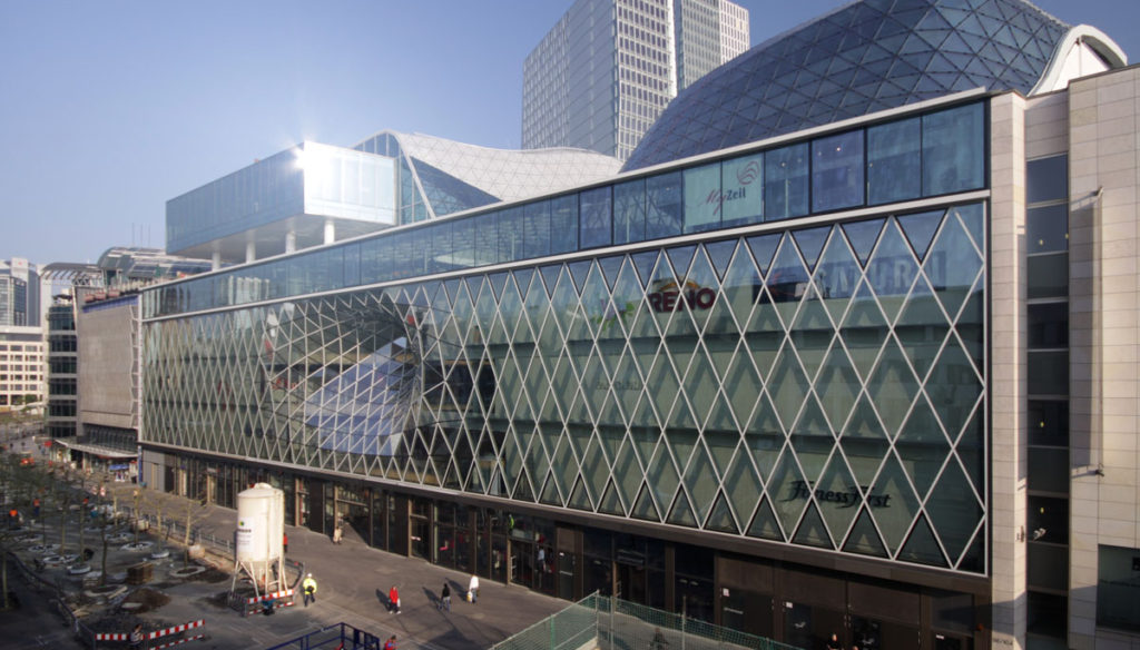 MyZeil Shopping Mall – Frankfurt, Germany