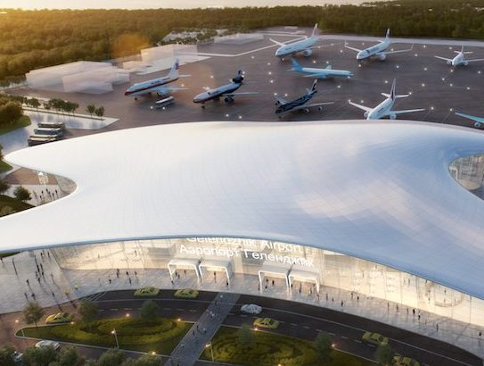 Studio Fuksas wins the competition for Gelendzhik Airport