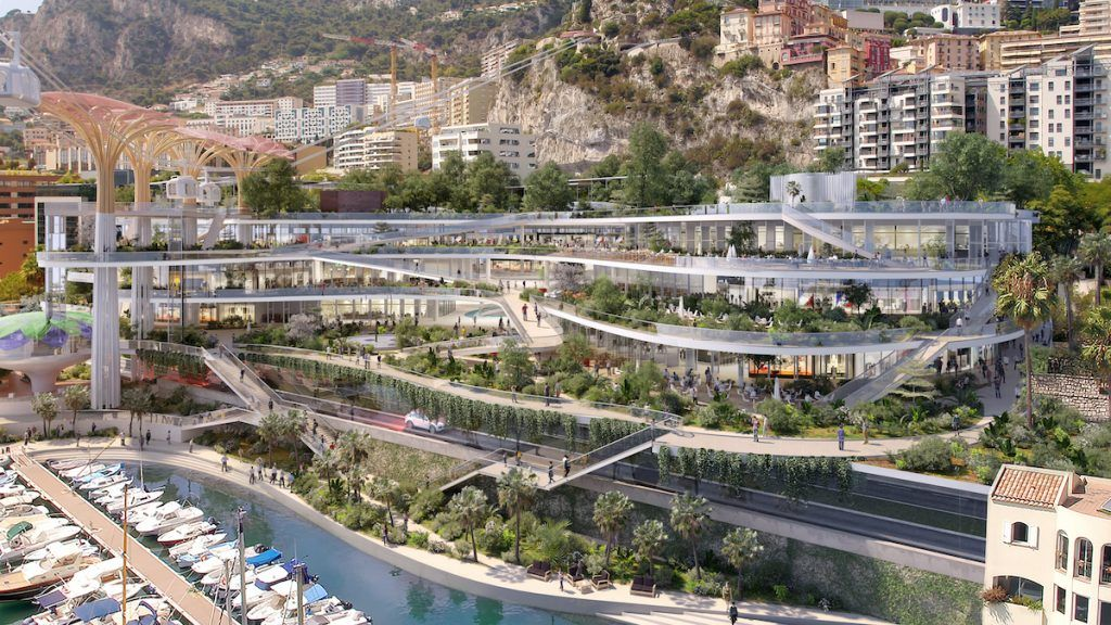 Project for Fontvieille's site, Principality of Monaco