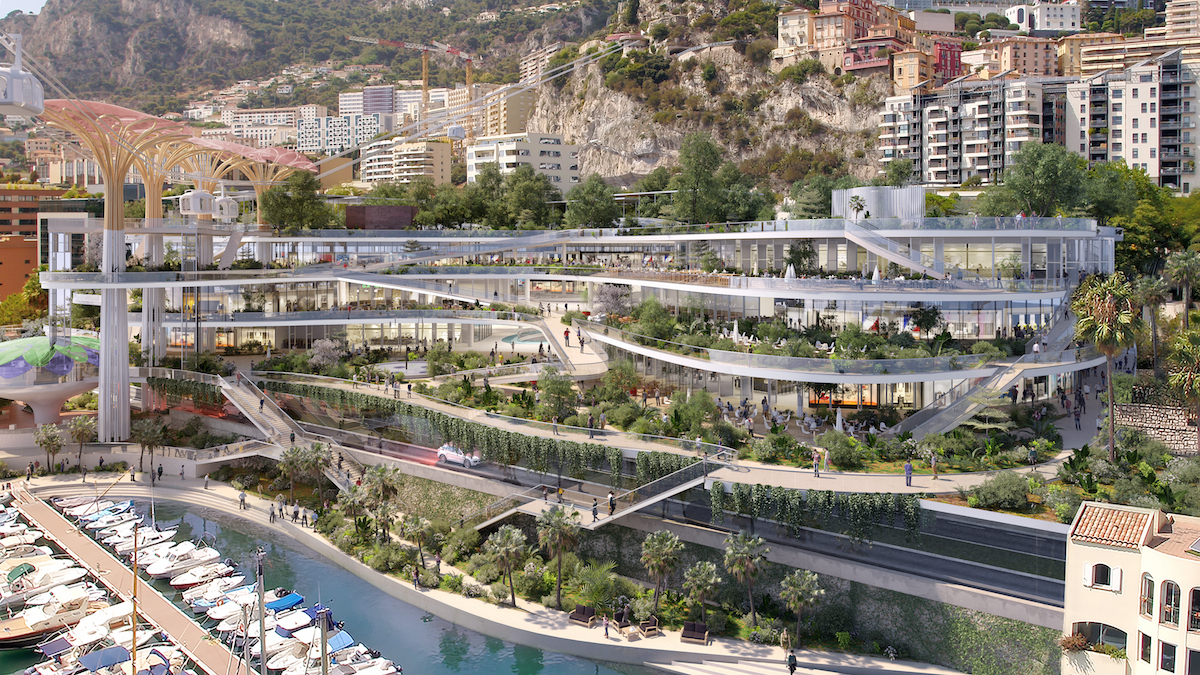Studio Fuksas Wins The Competition For New Fontvieille'site