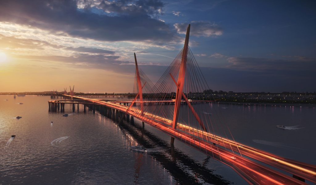 The Versova Bandra Sea Link