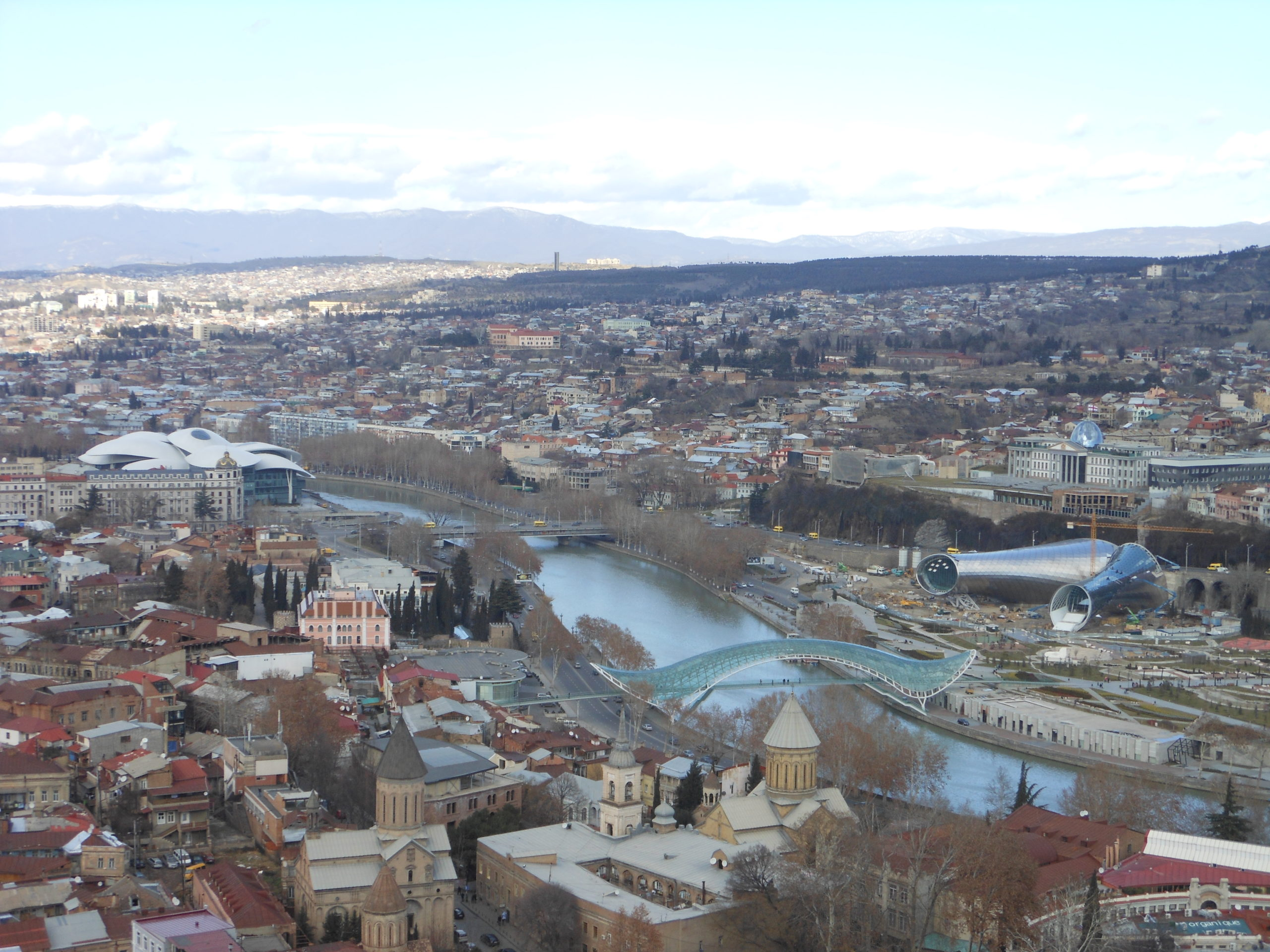 Rhike Park – Music Theatre And Exhibition Hall, Tbilisi
