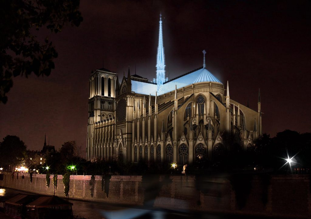 Restoration of Notre Dame de Paris – Paris, France