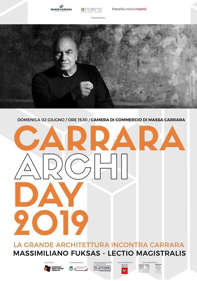 Massimiliano Fuksas – Carrara ArchiDay 2019, Lectio magistralis