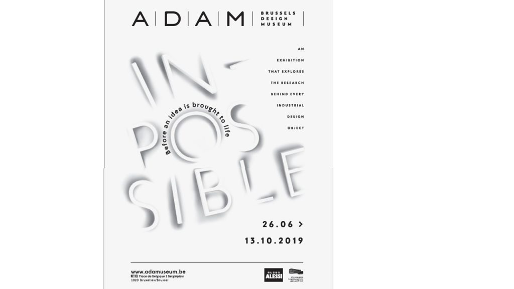 "FUKSAS for ""IN-possible"" exhibition – ADAM Design Museum, Brussels"
