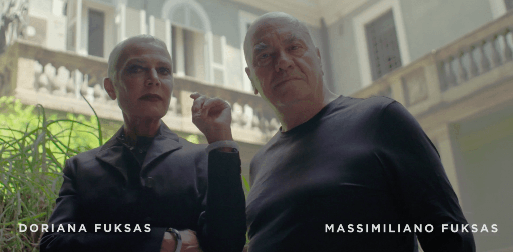 Massimiliano and Doriana Fuksas at London Design Festival 2019 for LG