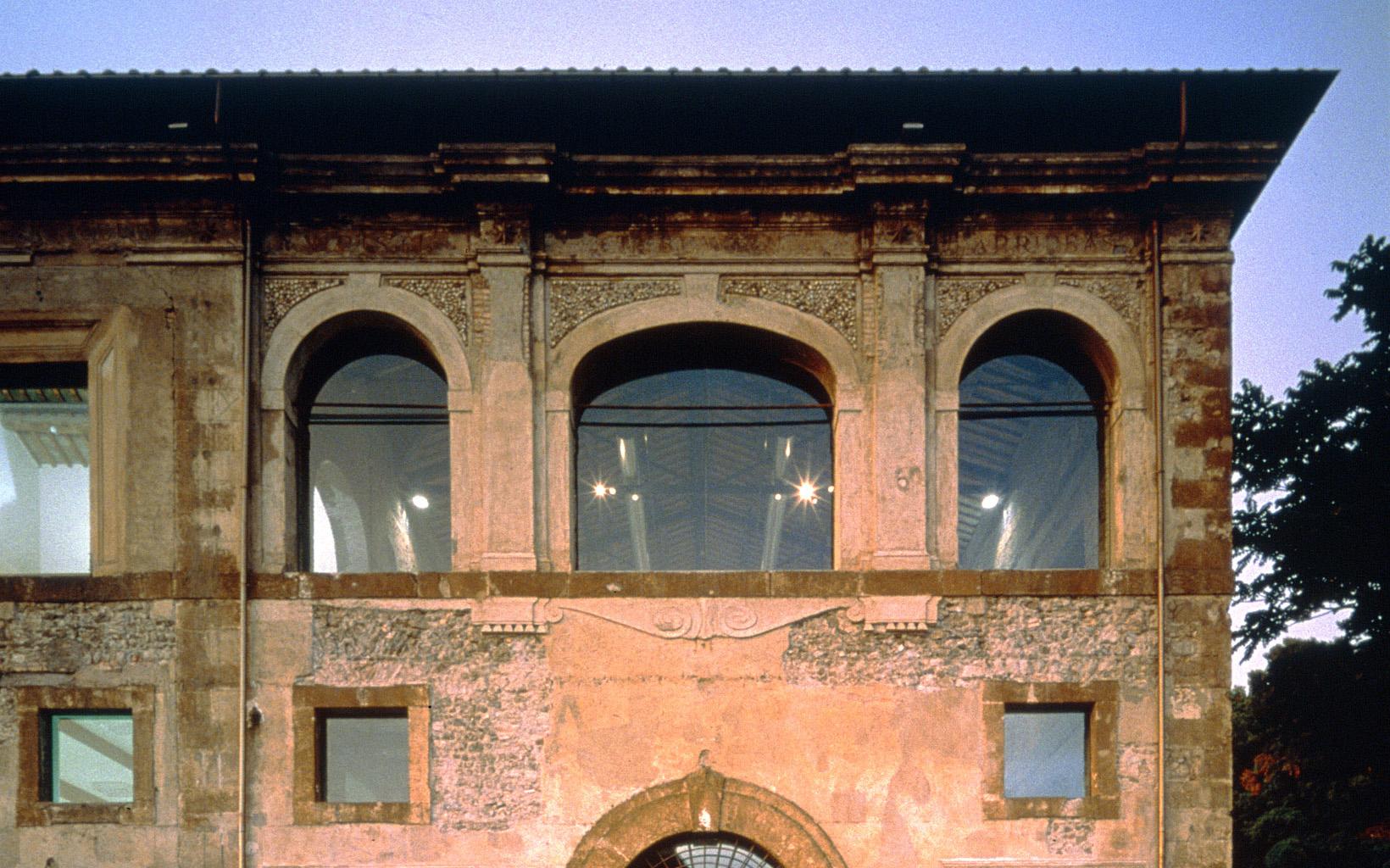 """Monte Porzio Catone Cosa Vedere scuderie aldobrandini"""" building in tuscolano museum – fuksas"""